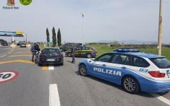 Livorno: controlli congiunti della polizia stradale e della Guardia di Finanza