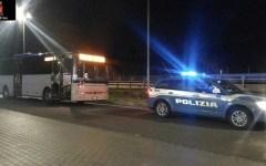 Siena: a velocità eccessiva sull'Autopalio, multato autista di bus. 2.000 euro e tolti 16 punti della patente
