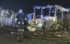 Foggia, migranti: due morti nell'incendio del gran Ghetto di Rignano