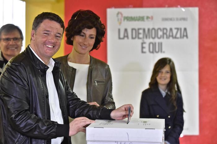 Renzi ha vinto con il 70%