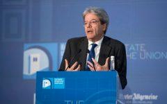 Firenze, State of the Union: Gentiloni, grazie Juncker, ma occorre un vero rilancio dell'Europa (video)