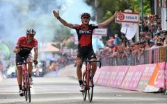 Giro d'Italia: lo svizzero Silvan Dillier vince in volata a Terme Luigiane
