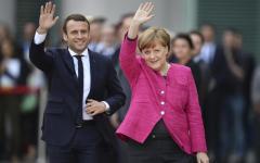 Berlino: incontro Merkel - Macron. Si rafforza l'Asse fra Francia e Germania