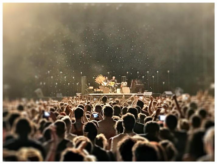Firenze: Eddie Vedder da solo sul palco fa vibrare 45.000 spettatori