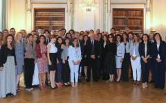 Roma, Viminale: 47 nuovi consiglieri di prefettura giurano davanti al ministro Marco Minniti
