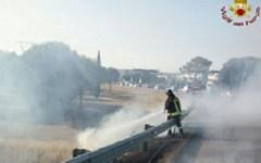 Toscana, incendi: interventi in serie dei vigili del fuoco nelle province di Firenze, Pisa e Grosseto