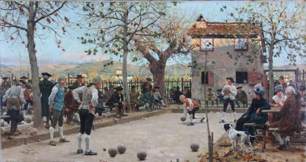 Raffaello Sorbi, Il gioco delle bocce, Firenze 1844-1931