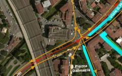 Firenze, tramvia: Piazza Dalmazia riapre parzialmente da lunedì 31 luglio