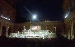 Firenze: ultimo concerto del Maggio nel Cortile dell'Ammannati. Dirige Gaetano D'Espinosa