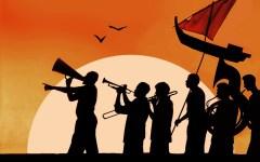 Scandicci: al Castello dell'Acciaiolo e in Piazzale Resistenza «Sandokan parade» di Zauches Teatro