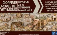 Giornate europee del patrimonio: in programma il 23 e 24 settembre, di che si tratta