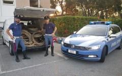 Lucca: due rumeni denunciati per furto di rame dalla Polizia stradale
