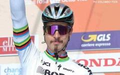Bergen, Ciclismo: Peter Sagan, terza maglia iridata di fila, un record. Quarto Trentin