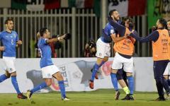 L'Italia vince in Albania (0-1) con gol di Candreva. Ai play off come testa di serie