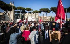 Roma: Cgil manifesta in 100 piazze contro gli stupri al grido «riprendiamoci la libertà»