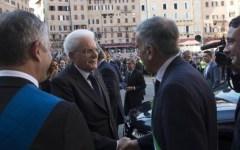 Siena: Mattarella al congresso Anm. E spunta lo striscione: «Verità per David»