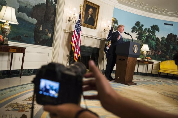 Spettro molestie per il presidente Usa Donald Trump