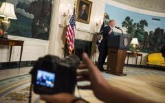 Usa: donna accusa Trump di molestie sessuali