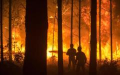 Uragano Ophelia: ventisette morti in Portogallo. Provocati da incendi e alte temperatura