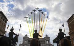 4 novembre festa delle Forze Armate: Mattarella all'Altare della Patria