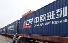 Cina: arrivato il primo treno merci diretto dall'Italia. Era partito da Mortara