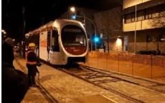 Tramvia, linea 2: oggi 28 marzo, prove in movimento del tram, con l'assistenza della polizia municipale