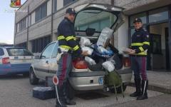 Firenze: trasportava oltre 4 kg di droga, arrestato dalla Polstrada