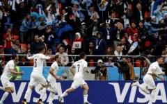 Mondiali 2018: l'Uruguay batte l'Egitto senza Salah (1-0). Classifica girone A