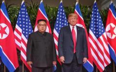 Singapore: incontro fra Kim e Trump, storica stretta di mano