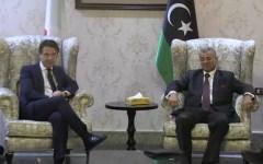 Libia: Conte a Al Serraj, l'Italia ha a cuore le sorti del popolo libico