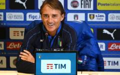 Mancini: prove di 4-4-3 in vista della partita con la Grecia