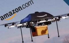 Amazon inizierà a consegnare pacchi con i droni elettrici, arrivo nel giro di mezz'ora