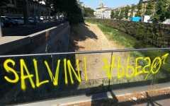 Firenze: scritta contro Salvini, reagisce e condanna Nardella, frase vergognosa