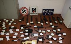 Blitz antiterrorismo: armi da guerra sequestrate dalla polizia in varie città del Nord Italia