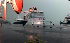 Venezia: nave da crociera sbanda, rischio grave incidente, sfiorate banchina e yacht