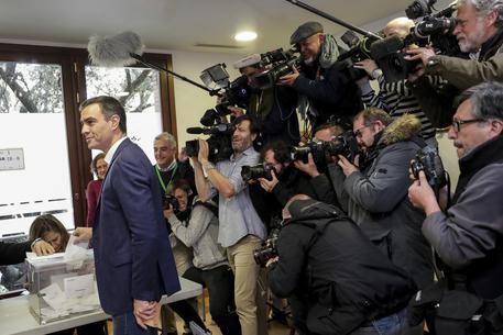 Spagna, exit poll: Vox raddoppia i seggi, terzo partito