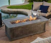 Faux Wood Fire Pit Table [ 5 Reasons I Like this One Best ]