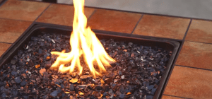 Gas fire pits