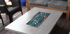 Fire pit tables