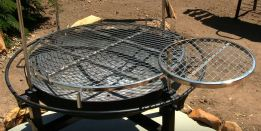 fire pit accessories for cooking