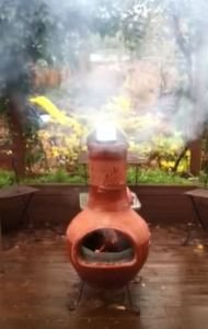 clay chimineas for sale