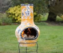 small chiminea stand