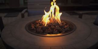 fire pit designs for backyard patio