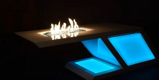 fire pit glass guard
