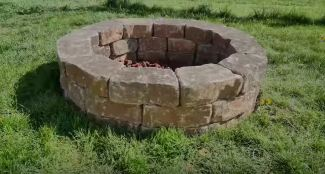 fire pit ring diy