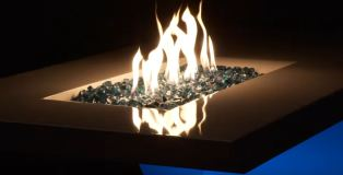 natural gas fire pit tables
