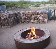 outdoor fire pit rings