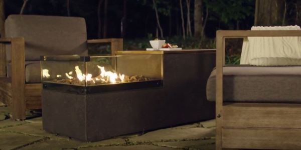 outdoor gas fire pit designs
