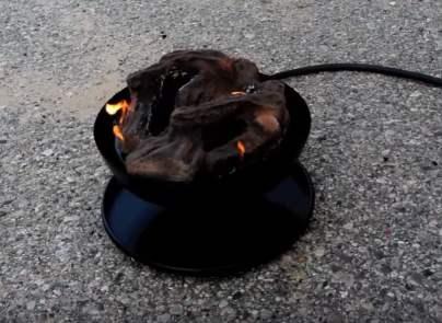 portable fire pit propane