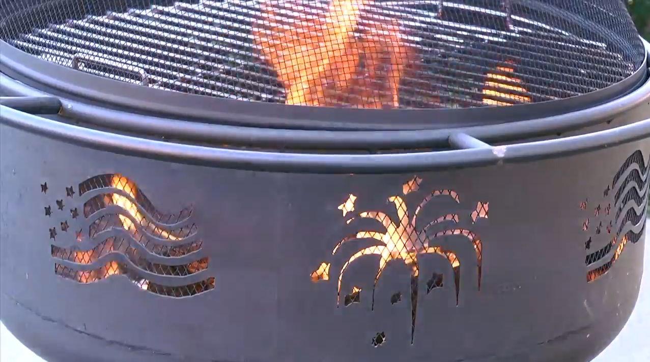 bbq fire pit grill